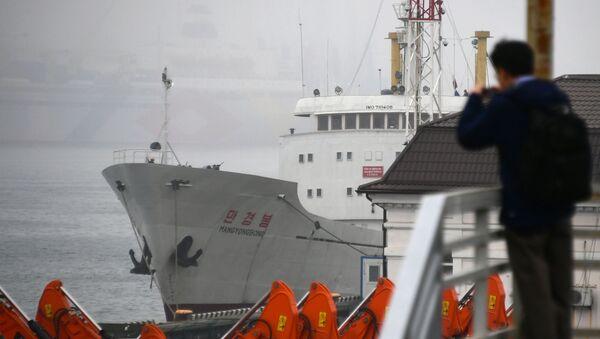 Tàu Man Gyong Bong của Bắc Triều Tiên - Sputnik Việt Nam