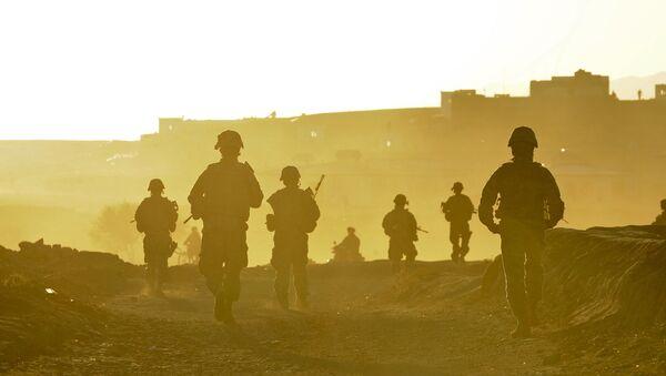 Các quân nhân Mỹ ở Afghanistan - Sputnik Việt Nam