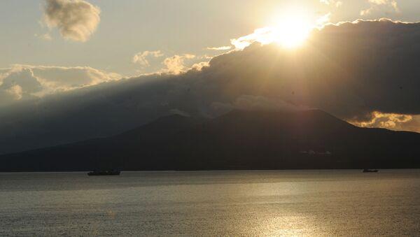 Закат на острове Кунашир - Sputnik Việt Nam