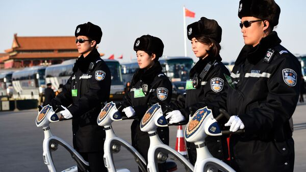 Cảnh sát Trung Quốc - Sputnik Việt Nam