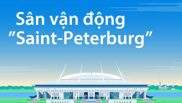 """Sân vận động """"Saint-Peterburg"""" - Sputnik Việt Nam"""