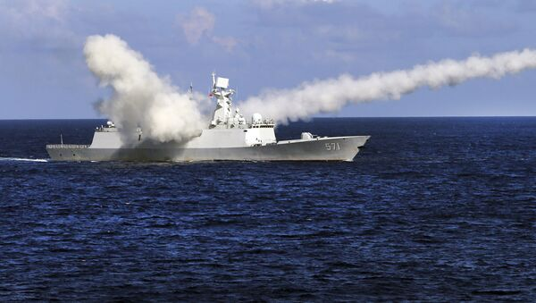 Tàu khu trục Trung Quốc Yuncheng - Sputnik Việt Nam