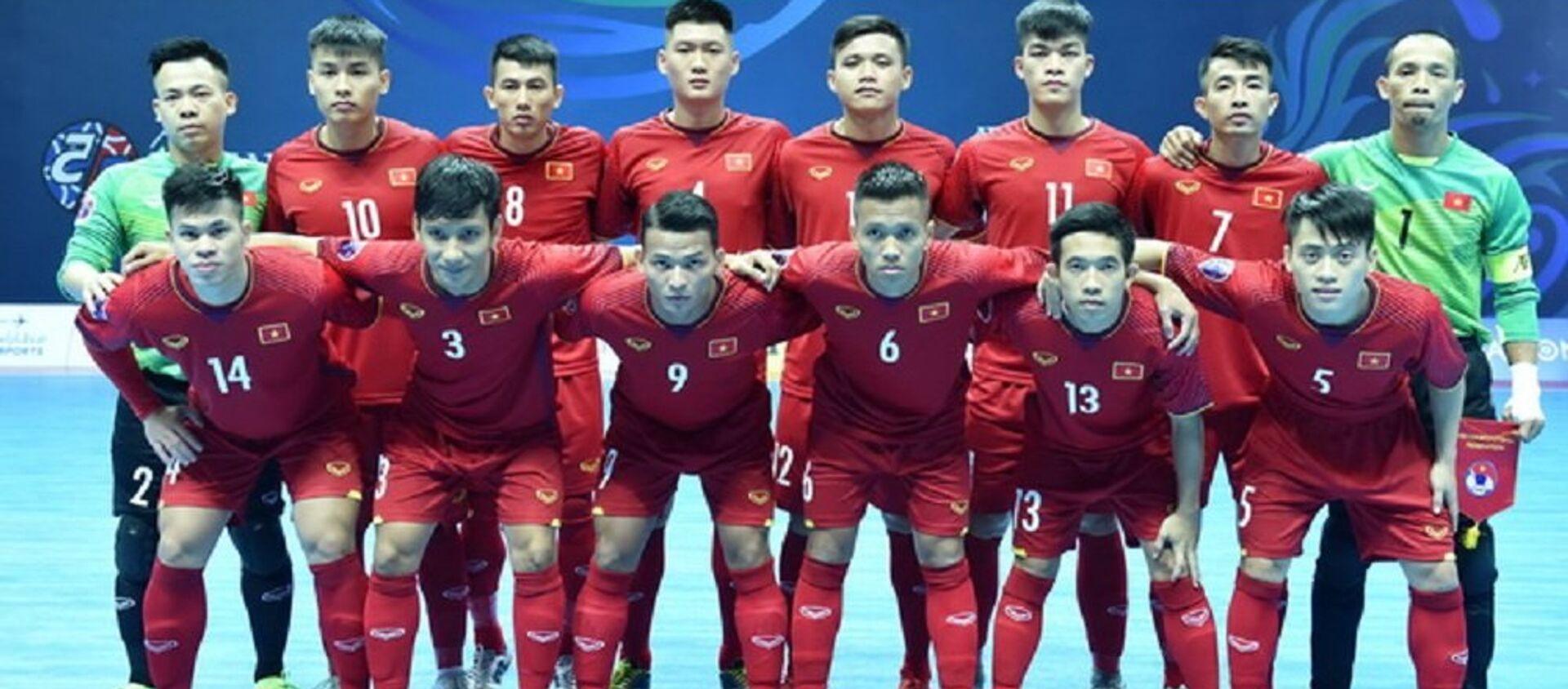 Đội tuyển Việt Nam càng chơi càng hay và giành quyền vào tứ kết giải vô địch châu Á 2018. - Sputnik Việt Nam, 1920, 06.02.2018