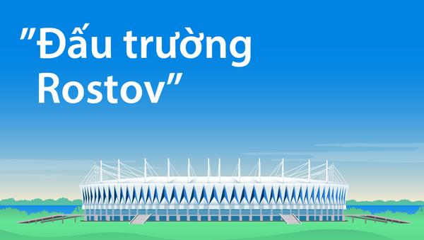 Sân vận động Đấu trường Rostov - Sputnik Việt Nam