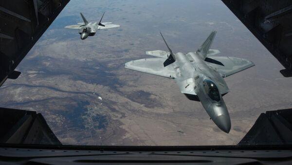 F-22 Raptor của Mỹ tại Syria - Sputnik Việt Nam