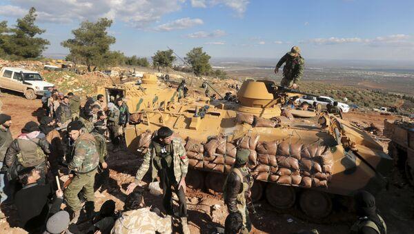 Quân đội Thổ Nhĩ Kỳ ở Syria - Sputnik Việt Nam