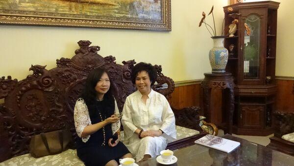 Bà Thái Hương, Chủ tịch TH True Milk trả lời phỏng vấn Sputnik - Sputnik Việt Nam