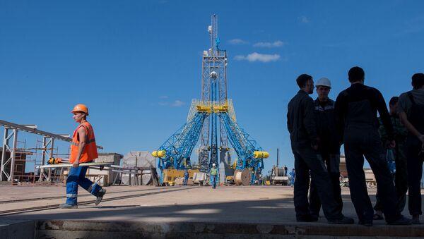Sân xuất phát tại sân bay vũ trụ Vostochny ở tỉnh Amurskaya - Sputnik Việt Nam