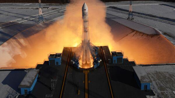 Roskosmos đăng tải trên trang web của tập đoàn những bức ảnh đầu tiên của bề mặt Trái đất chụp từ vệ tinh Kanopus-V số 3, phóng lên vào ngày 1 tháng Hai từ sân bay vũ trụ Vostochnyi. - Sputnik Việt Nam