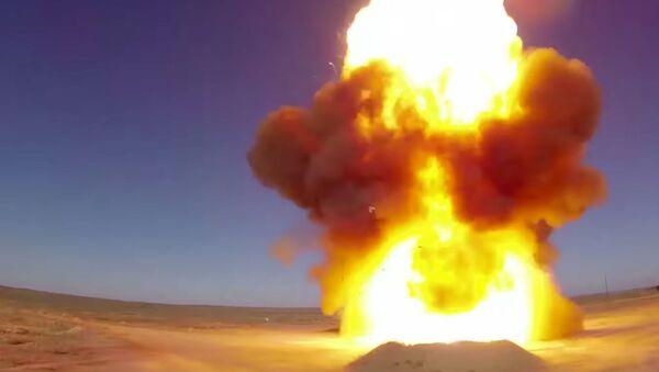 Nga thử nghiệm thành công mẫu tên lửa mới - Sputnik Việt Nam