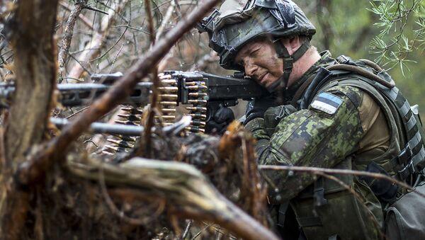 Cuộc tập trận ở Estonia của đội quân NATO - Sputnik Việt Nam