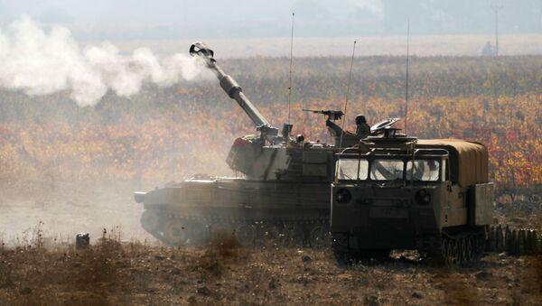 Quân đội Israel gần biên giới với Syria - Sputnik Việt Nam