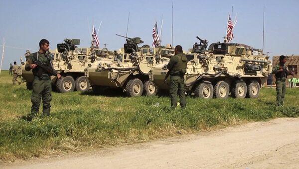 vũ khí Mỹ của người Kurd Syria - Sputnik Việt Nam