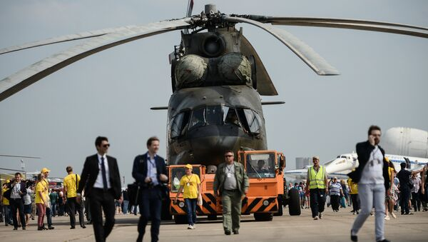 Trực thăng Mi-26T2 - Sputnik Việt Nam