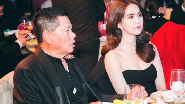 Tỷ phú Hoàng Kiều cùng Ngọc Trinh - Sputnik Việt Nam