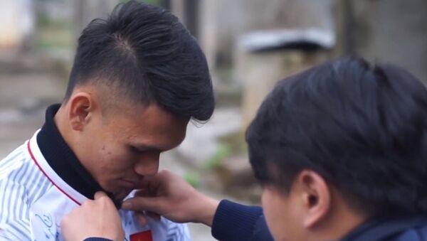 Hậu vệ U23 Việt Nam Phạm Xuân Mạnh - Sputnik Việt Nam