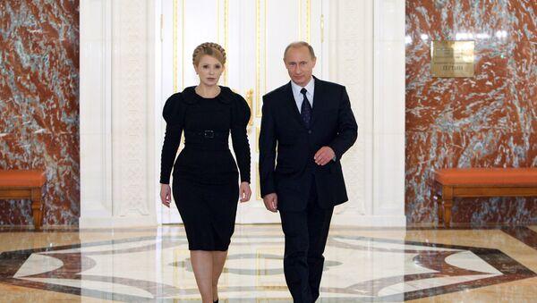 Yulia Tymoshenko và Vladimir Putin - Sputnik Việt Nam