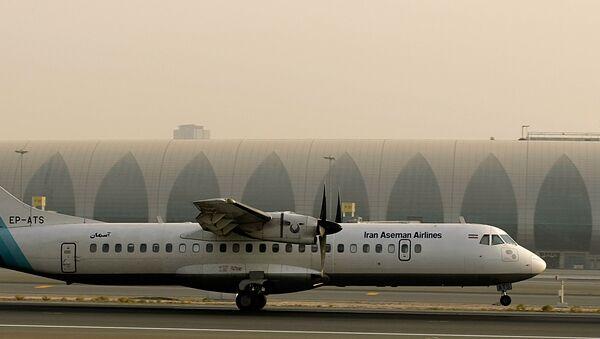 Chiếc máy bay chở khách của hãng Aseman Airlines - Sputnik Việt Nam