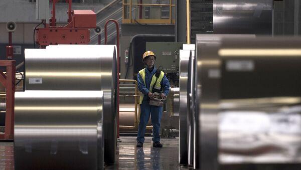 Сталелитейное производство в Китае - Sputnik Việt Nam