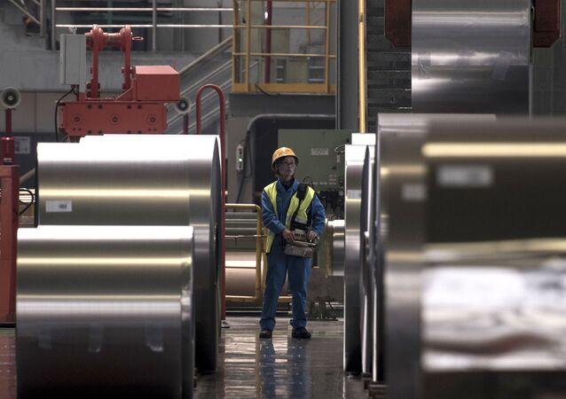 Sản xuất thép ở Trung Quốc