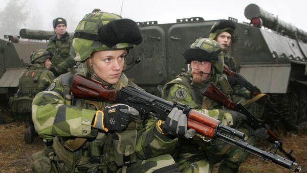 Quân đội Thụy Điển - Sputnik Việt Nam