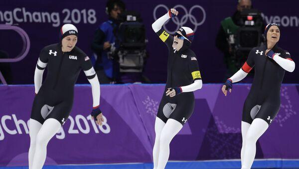 VĐV trượt băng Mỹ - Sputnik Việt Nam