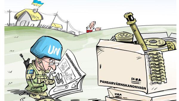 Thụy Điển hướng dẫn triển khai xâm nhập Donbass - Sputnik Việt Nam