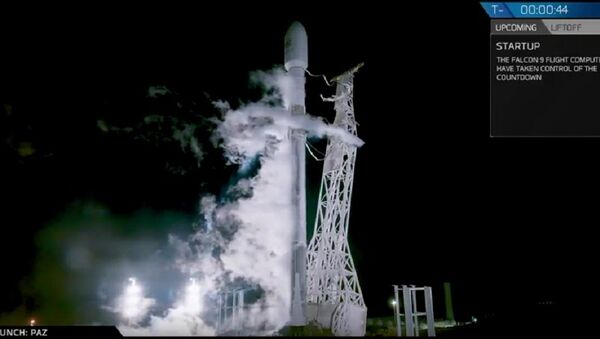 Falcon 9 - Sputnik Việt Nam