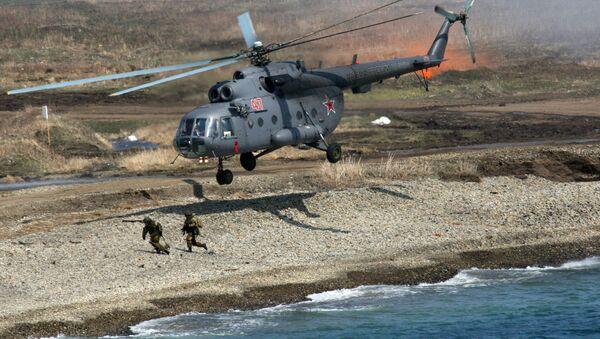 Trực thăng đa năng Mi-8 - Sputnik Việt Nam