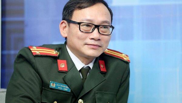 Trung tá, NCS Đào Trung Hiếu. - Sputnik Việt Nam