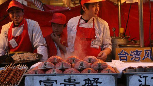 Người Trung Quốc bán cá - Sputnik Việt Nam