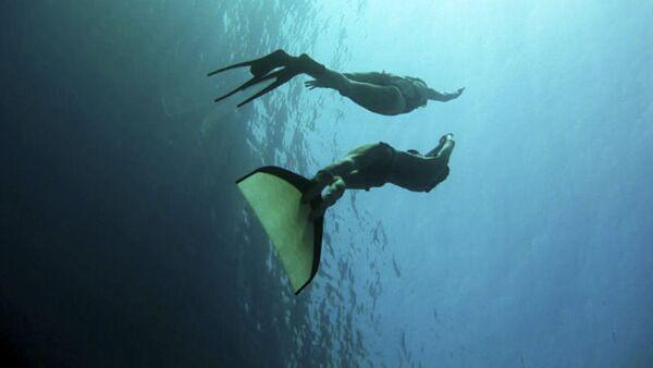 Chuyên viên lặn tự do - Sputnik Việt Nam