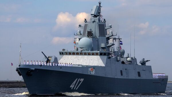 tàu khu trục Đô đốc Gorshkov  - Sputnik Việt Nam