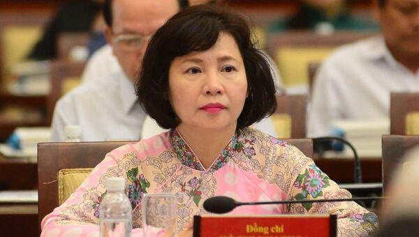 Thứ trưởng Bộ Công thương Hồ Thị Kim Thoa - Sputnik Việt Nam