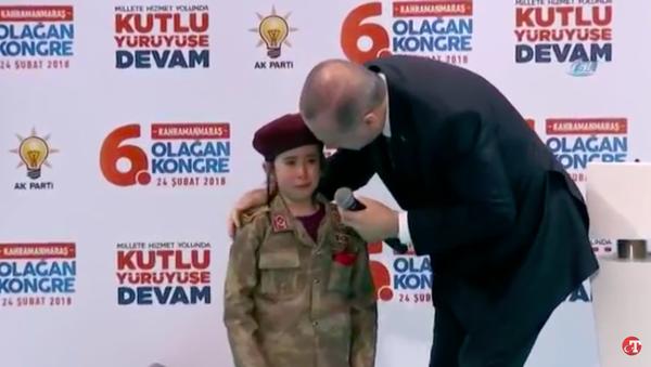 Erdogan hứa dành cho cô bé sáu tuổi đám tang danh dự (Video) - Sputnik Việt Nam