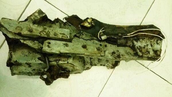 Tìm thấy mảnh kim loại, có khả năng là của chiếc máy bay Liên Xô MiG-21 bị rơi ở Tam Đảo năm 1971 - Sputnik Việt Nam