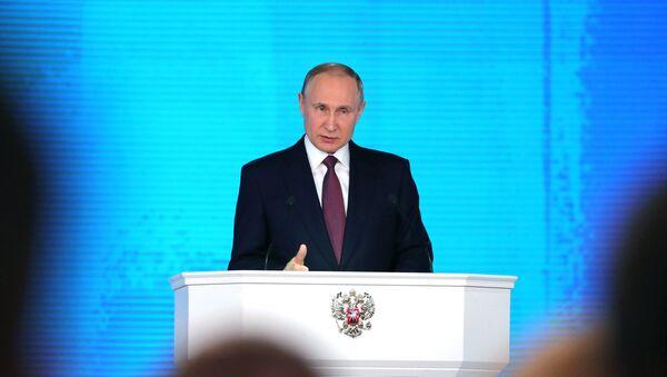 Thông điệp của Tổng thống Putin với Quốc hội Liên bang - Sputnik Việt Nam