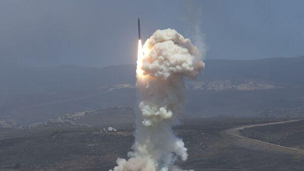 Thử nghiệm hệ thống phòng thủ tên lửa trên đất liền của Hoa Kỳ. Ảnh lưu trữ - Sputnik Việt Nam