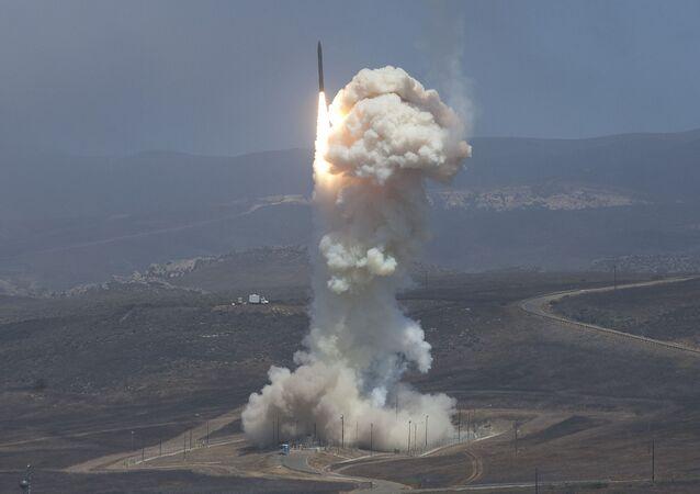 Thử nghiệm hệ thống phòng thủ tên lửa trên đất liền của Hoa Kỳ. Ảnh lưu trữ