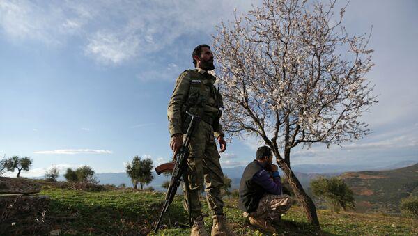 Quân đội Tự do Syria tại Afrin - Sputnik Việt Nam