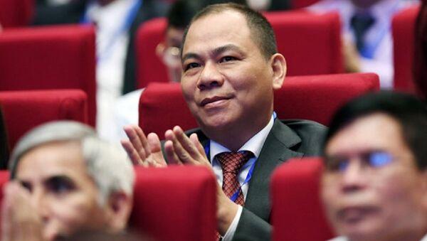 Ông Phạm Nhật Vượng - Sputnik Việt Nam