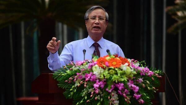 Chủ nhiệm Ủy ban Kiểm tra trung ươngTrần Quốc Vượng giữ chức Thường trực Ban Bí thư thay ông Đinh Thế Huynh - Sputnik Việt Nam