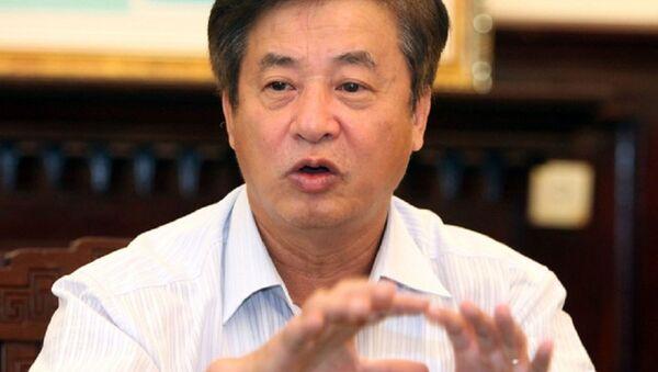 Ông Hồ Nghĩa Dũng, chủ tịch Hiệp hội Thép VN (VSA) - Sputnik Việt Nam