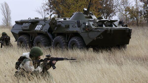 Показательные выступления пограничной службы в Крыму - Sputnik Việt Nam
