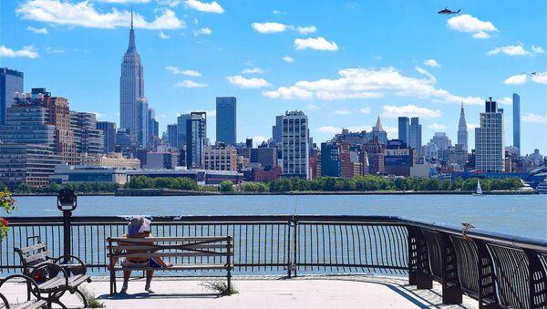 Город Нью-Йорк на реке Гудзон в США - Sputnik Việt Nam