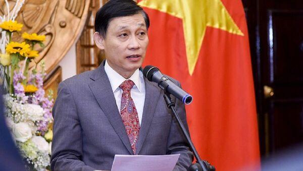 Thứ trưởng Bộ Ngoại giao Việt Nam Lê Hoài Trung - Sputnik Việt Nam