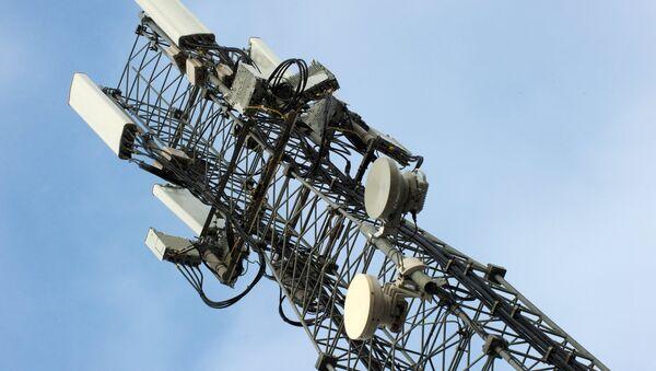 Cột tháp hỗ trợ viễn thông di động - Sputnik Việt Nam