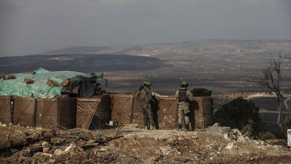 Quân đội Thổ Nhĩ Kỳ ở Afrin, Syria - Sputnik Việt Nam