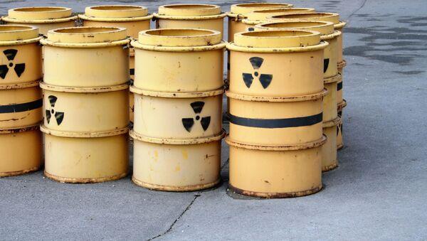 Thùng chứa chất thải phóng xạ - Sputnik Việt Nam