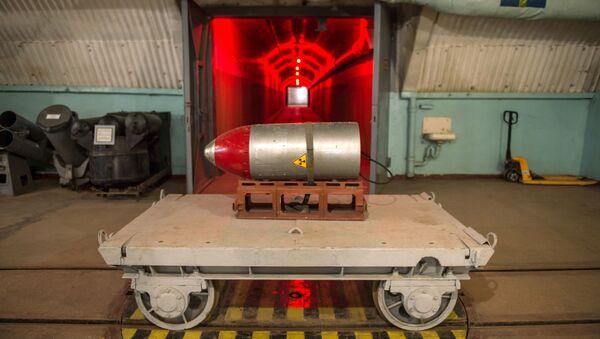 Đầu đạn hạt nhân tại Bảo tàng Hải quân Balaklava - Sputnik Việt Nam